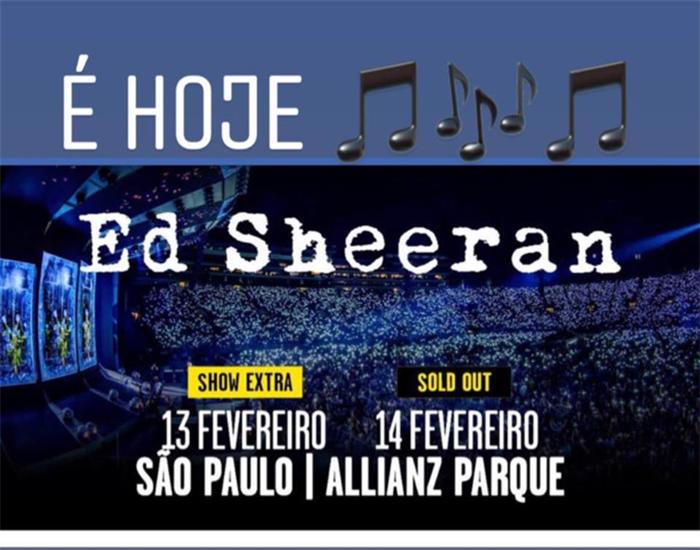 Show ED Sheeran